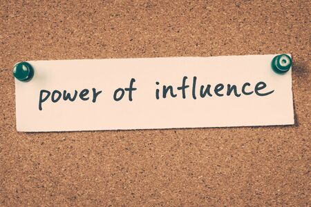 influence: power of influence