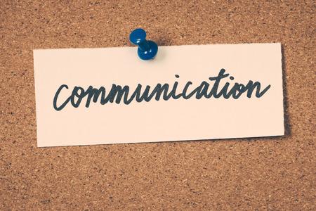 at communication: communication Stock Photo