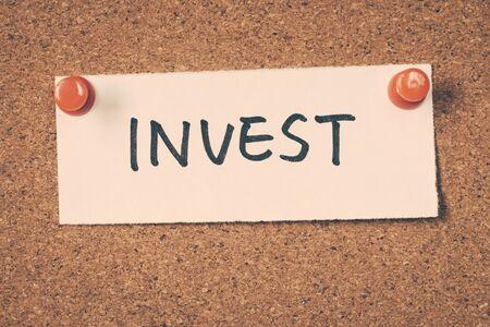 invest: invest
