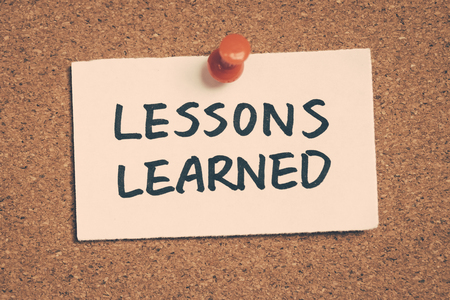 lernte: lessons learned