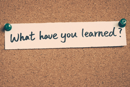 lernte: what have you learned
