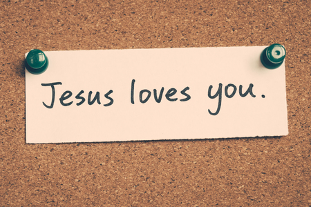 loves: Jesus loves you