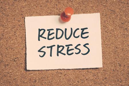 reduce: reduce stress