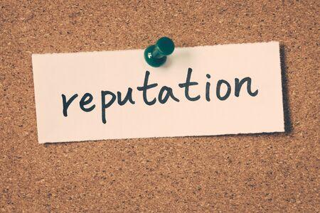 reputation: reputation