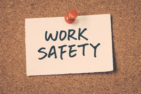 safety: work safety Stock Photo