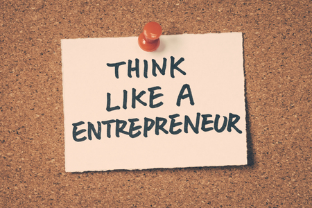think like a entrepreneur 版權商用圖片