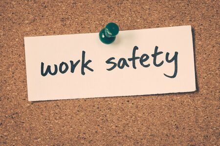 work: work safety Stock Photo