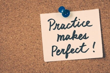 makes: practice makes perfect