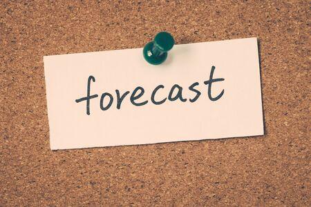 forecast: forecast