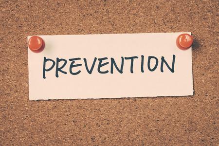 prevention: prevention