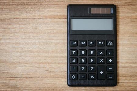 electronic background: calculator Stock Photo