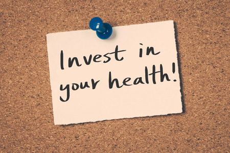 invest in your health 版權商用圖片