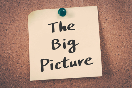 big picture: The Big Picture Stock Photo