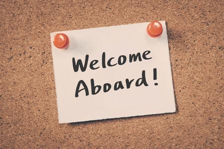 Bienvenido a bordo