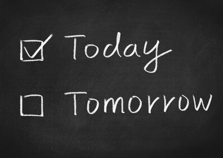 今日か明日
