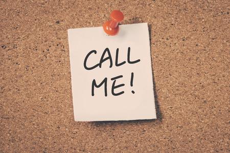 me: Call Me Stock Photo