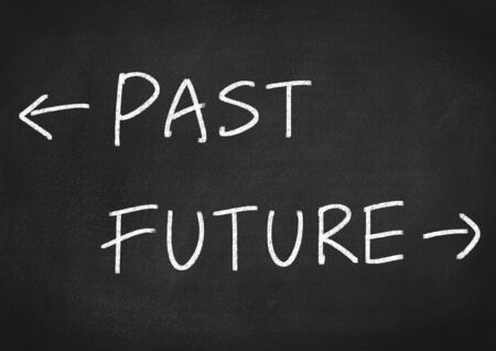 the past: past future concept