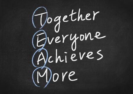teamwork concept: teamwork concept