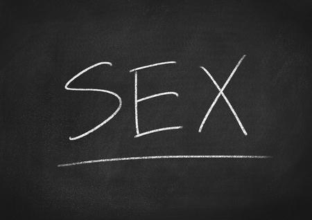 educacion sexual: sex Foto de archivo