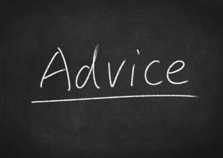 advice: advice