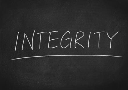 morality: integrity