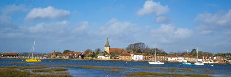 Panorama of Bosham in Chichester Harbour