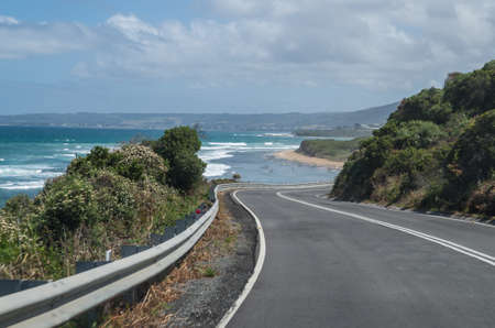 Travel along the Great Ocean Road in Victoria Australia