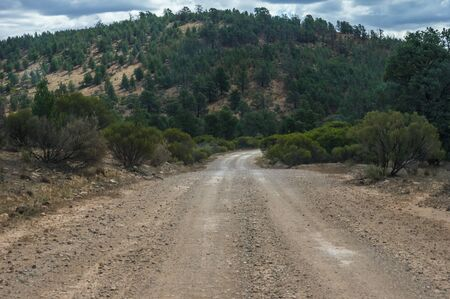 flinders: Outback roads and bush tracks in The Flinders Ranges National Park Stock Photo