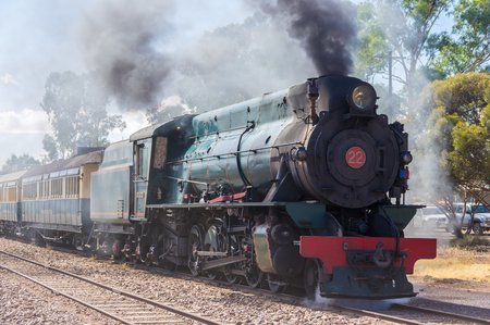 flinders: A restored steam engine Locomotive still journeys in outback South Australia Editorial