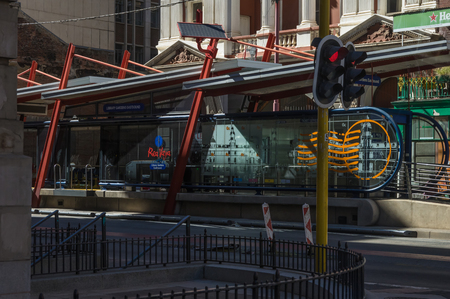 johannesburg: Johannesburg, South Africa 28 March 2016 The Johannesburg central business district in the older part of town Editorial