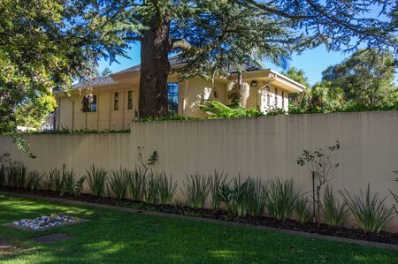 johannesburg: Johannesburg, South Africa 28 March 2016  Nelson Mandelas last house in the suburbs of Johannesburg Editorial