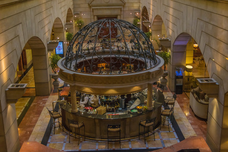 famous industries: Johannesburg, South Africa 27 March 2016 The MichelAngelo Hotel in Sandton Johannesburg is one of the citys best hotels. Editorial