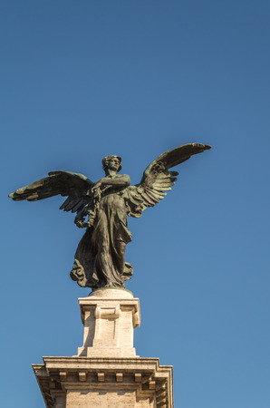 public figure: Rome is a city filled with many beautiful historical statues and sculptures