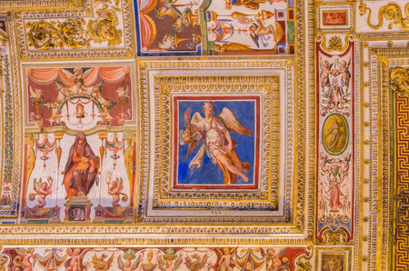 Vatican City Italy 10 May 2014 , The Vatican Museum in Rome is full of historical artworks and architecture Editorial