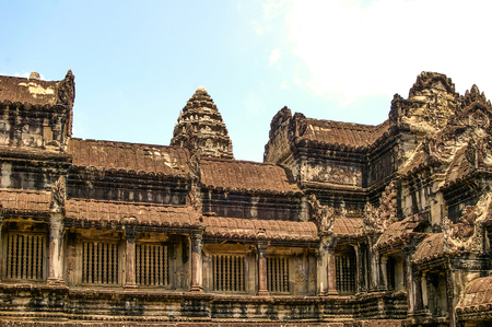 Angkor Wat in Cambodia is the largest religious monument in the world