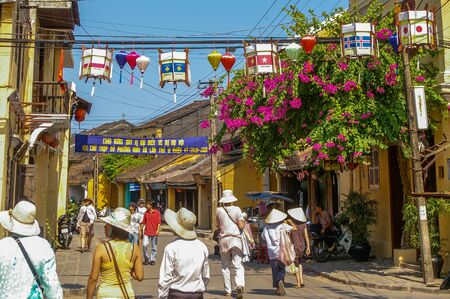 Hoi An Vietnam 17 April 2009 Hoi An is a World Heritage listed town located on the beautiful coastline of Vietnam