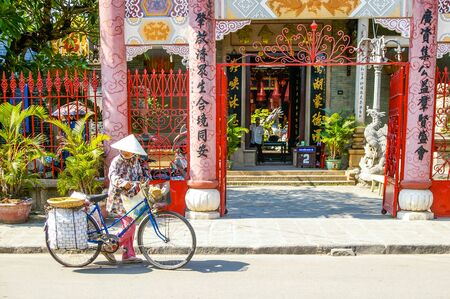 Hoi An Vietnam 17 April 2009 Hoi  town located on the beautiful coastline of Vietnam