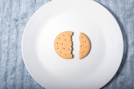 クッキー、ビスケット、休憩 写真素材