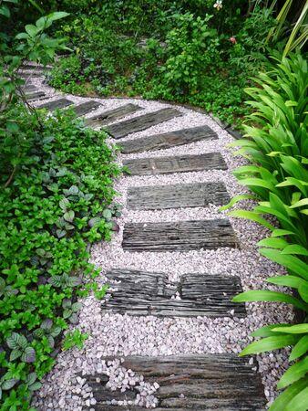 Garden path Stock Photo - 5165369