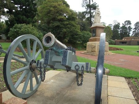 Civil War Cannon located at King Park in Perth photo