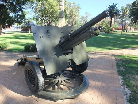 Civil War Cannon located at Swam Valley in Perth   photo