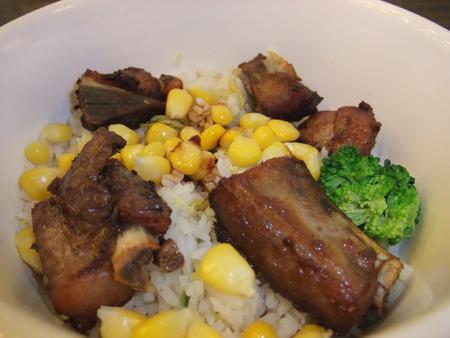 pork rib: Pork rib rice