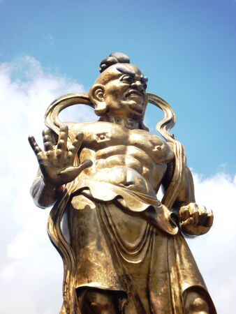 si: Statue at Kek Lok Si buddhist temple
