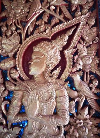carve: Wooden carve
