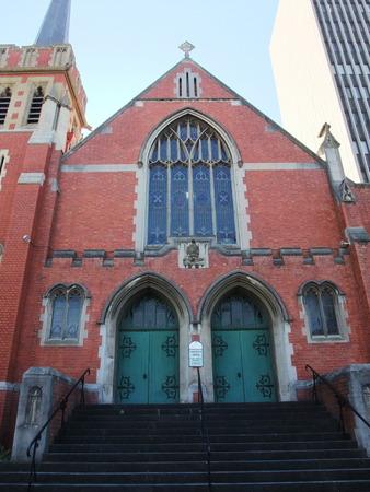 perth: Close up of the church in Perth, Australia Stock Photo