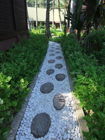 pebbles: Massage Walkway