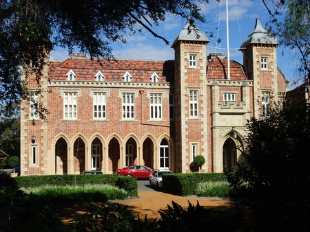 governor: Government House, the residence of the Governor of Western Australia. Editorial