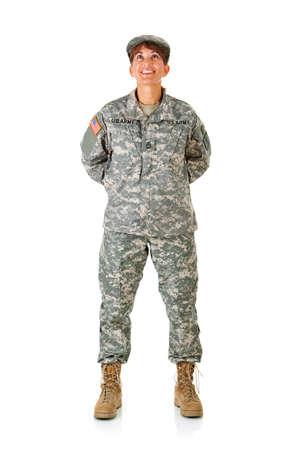 uniformes: Soldado: Colocaci�n en la Facilidad Mirar hacia arriba