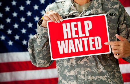 america soldiers: Soldier: Looking for a New Job
