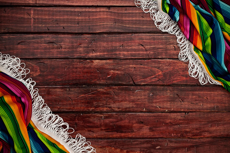 Cinco De Mayo Background With Serape